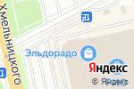 Схема проезда до компании ЛинзАмат в Белгороде