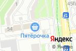Схема проезда до компании Лапки-царапки в Белгороде