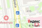 Схема проезда до компании Оранжевый остров в Белгороде