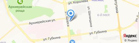 Мясной остров на карте Белгорода