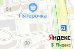 Схема проезда до компании МастерПол-Черноземье в Белгороде