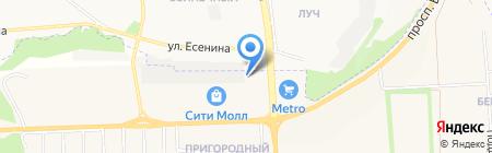 Belautoparts на карте Белгорода