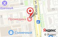 Схема проезда до компании Витражная мануфактура в Белгороде