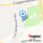 Комбинат Школьного Питания на карте Белгорода