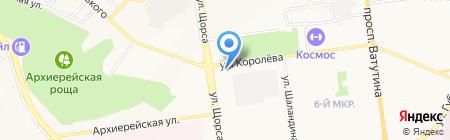 Банкомат АКБ Металлинвестбанк на карте Белгорода