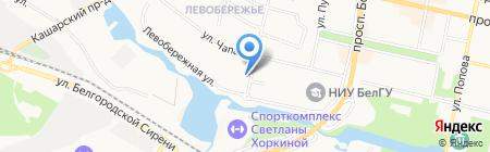 Ателье на карте Белгорода