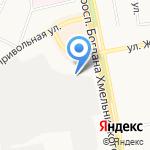 Вариант на карте Белгорода