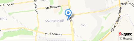 Автодом 31 на карте Белгорода
