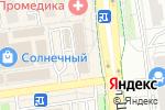Схема проезда до компании Квадратный метр в Белгороде