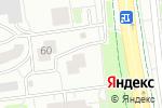 Схема проезда до компании Декармебель в Белгороде