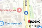 Схема проезда до компании Francesco Donni в Белгороде