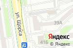Схема проезда до компании Магазин дверей в Белгороде