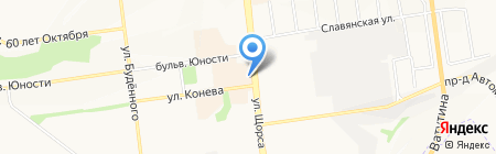 Satmarket31 на карте Белгорода