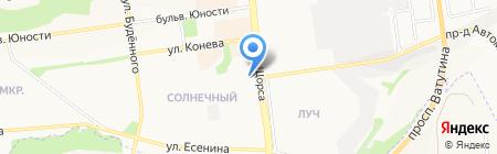 Мерилин на карте Белгорода