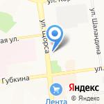 Дёнер Кебаб на карте Белгорода