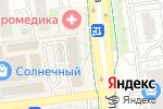 Схема проезда до компании Солнечный в Белгороде