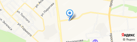 Парус Строй на карте Белгорода