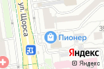 Схема проезда до компании Астра Студия в Белгороде