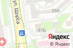Схема проезда до компании АВТОСУШИ в Белгороде