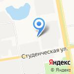 Магазин продуктов на карте Белгорода
