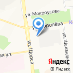 Золотая рыбка на карте Белгорода