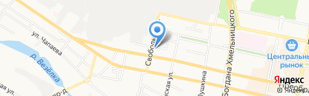 РАКУРС на карте Белгорода