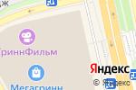 Схема проезда до компании Palmetta в Белгороде