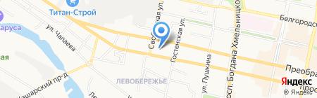 Экосвязь-Экспресс на карте Белгорода