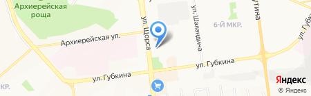 Гравитация на карте Белгорода
