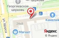 Схема проезда до компании Манхэттен в Белгороде