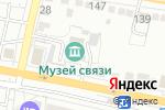 Схема проезда до компании Музей связи в Белгороде