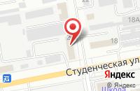 Схема проезда до компании Вариант в Белгороде