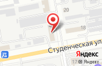 Схема проезда до компании Автофлот в Белгороде
