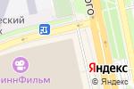 Схема проезда до компании М-сервис в Белгороде