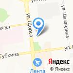 Мебель-маркет на карте Белгорода