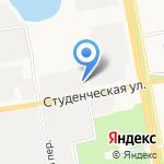 Центр КИП на карте Белгорода