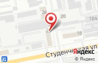 Схема проезда до компании СтройХаус в Белгороде