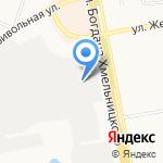 Метамакс на карте Белгорода