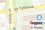 Схема проезда до компании Сом в Белгороде