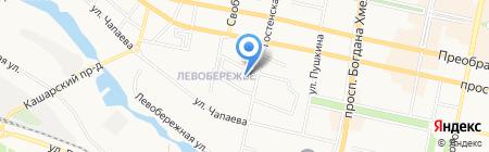 ССМ на карте Белгорода