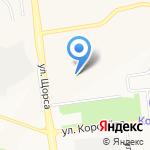 Лицей №10 на карте Белгорода