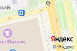 Схема проезда до компании Палитра в Белгороде