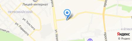 Океан на карте Белгорода