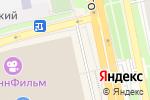 Схема проезда до компании Красный куб в Белгороде