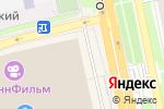 Схема проезда до компании INGLOT в Белгороде