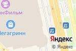 Схема проезда до компании Перевернутая комната в Белгороде