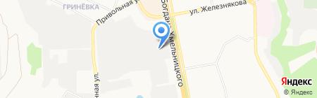 Час на карте Белгорода
