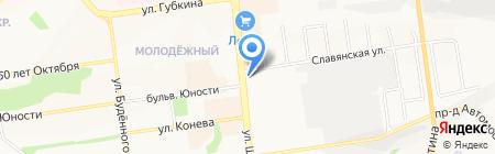 Юридическая компания на карте Белгорода