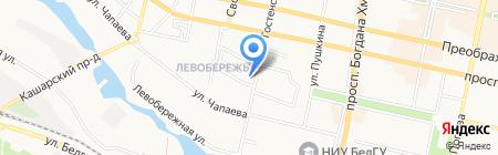 Тысяча и одна ночь на карте Белгорода