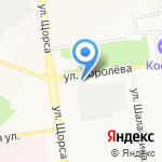 Никс-Белгород на карте Белгорода